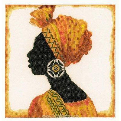 Sadwana - toile etamine tableau broderie point de croix - Lanarte