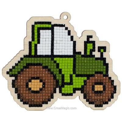Broderie diamant tractor de Wizardi