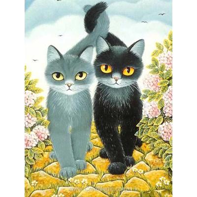 Broderie diamant cats de Diamond Painting