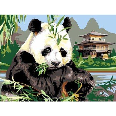 Canevas panda dans la nature de SEG