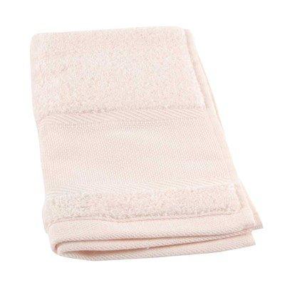 Serviette invité à broder coton 500 g/m2 - 043 rose clair DMC