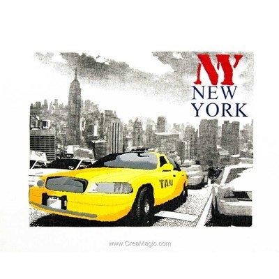 Kit de broderie imprimée ny newyork de Duftin
