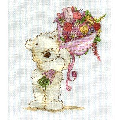 Ces fleurs sont pour toi la broderie - DMC