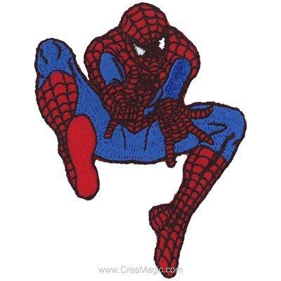 Motif thermocollant spiderman le lancé de toile - MLWD