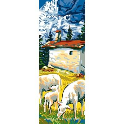 Pâturage de montagne canevas - Luc Création