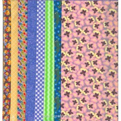 Sets de tissu DRESS YOUR DOLL violet