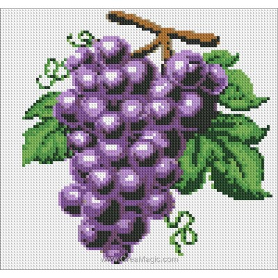 Broderie diamant grapes de Diamond Painting