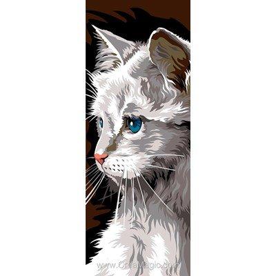 SEG canevas persan aux yeux bleus