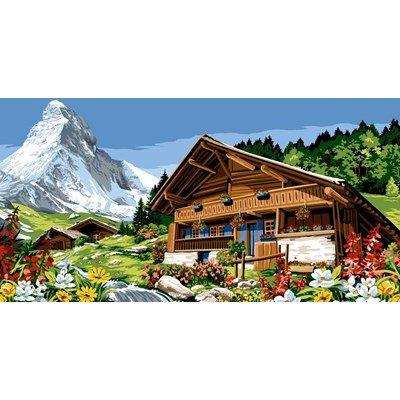 Margot canevas le grand chalet de la montagne