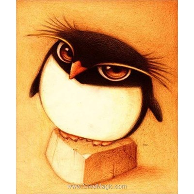 Broderie diamant Diamond Painting penguin