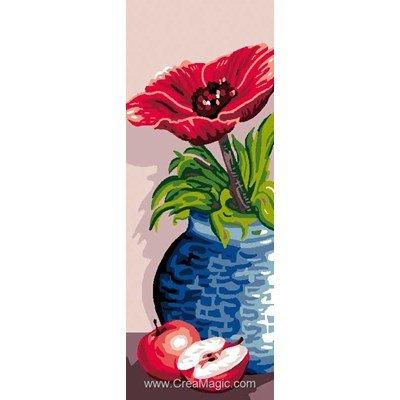 Canevas vase bleu de Luc Création