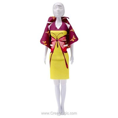 Set couture butterfly DRESS YOUR DOLL