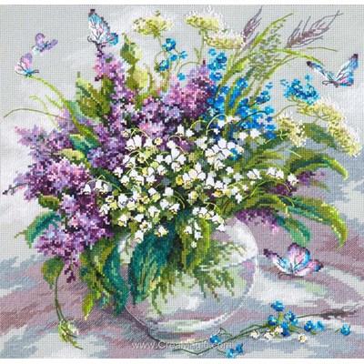 Broderie Magic Needle bouquet de muguet