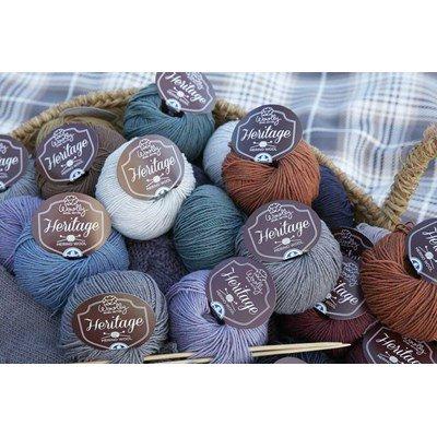 Laine woolly héritage de dmc - 100% mérinos art-490a