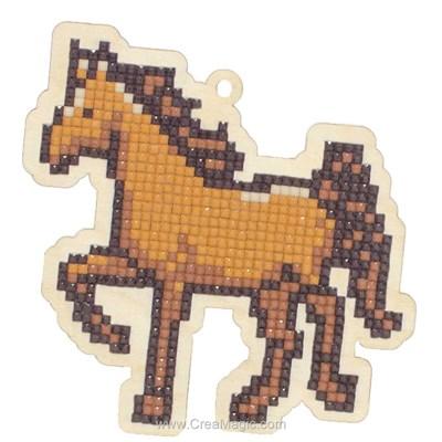 Kit broderie diamant horse de Wizardi