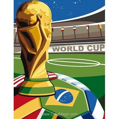 Canevas coupe du monde - world cup de Margot