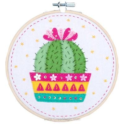 Kit feutrine cactus - Vervaco