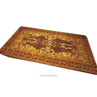 Kit tapis point noue Smyrnalaine gold finger