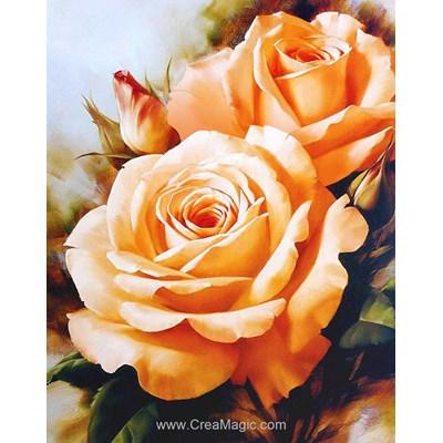 Broderie diamant Diamond Painting tea roses