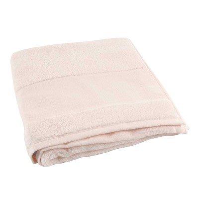 Serviette de bain DMC coton 500 g/m2 - rose clair col 043 à broder