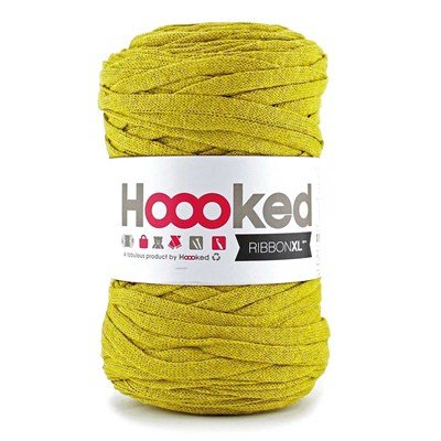 Ribbon xl DMC hoooked spicy ocre