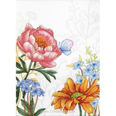 Kit douces fleurs et papillon de Luca-S