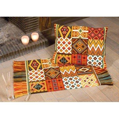 tapis au point de croix creamagic. Black Bedroom Furniture Sets. Home Design Ideas