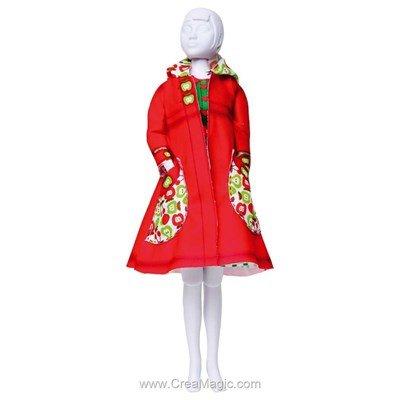 Set couture fanny apples DRESS YOUR DOLL pour barbie