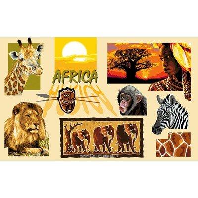 Terre d'afrique canevas chez Luc Création