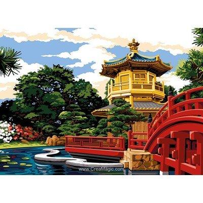 Le jardin de nan lian canevas - SEG