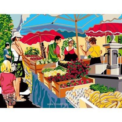 Luc Création canevas sur le marché