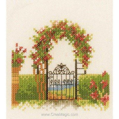 Broderie au point de croix paysages creamagic - Broderie point de croix grilles gratuites fleurs ...