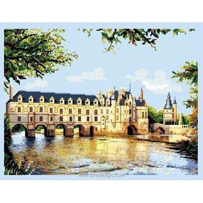 Tableau point de croix le château de chebonceaux de Luc Création