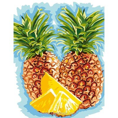 Canevas Luc Création les ananas