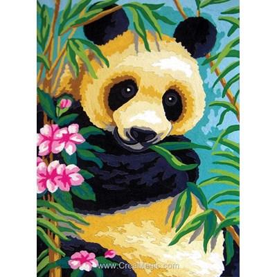 Panda dans les bambous canevas de Collection d'art