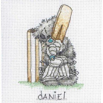 Tableau naissance au point croix Anchor cricket