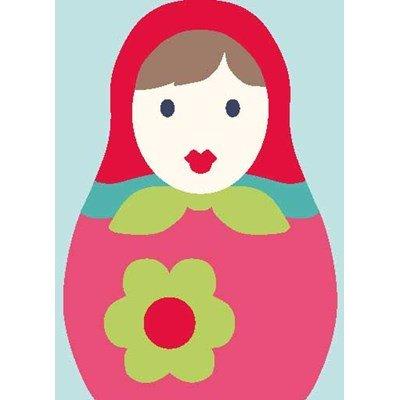 La poupée russe kit canevas enfant - DMC