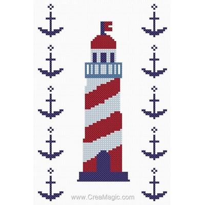 Le phare aux ancres marines kit - Princesse