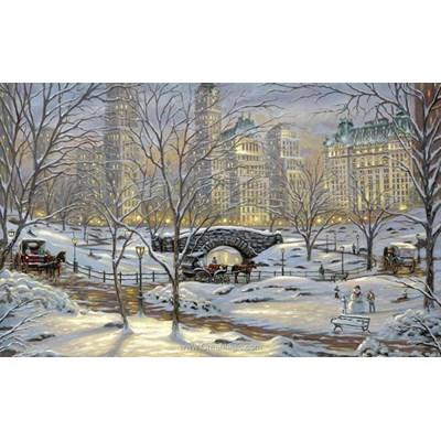 Kit broderie diamant winter in new york - Diamond Painting