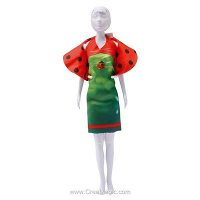 Couture ladybug DRESS YOUR DOLL