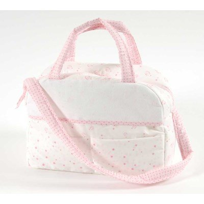 Sac nursery à broder baby star - rose - DMC