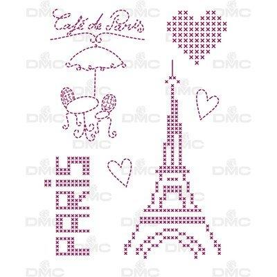 Feuille magique city paris - costum by me ! DMC