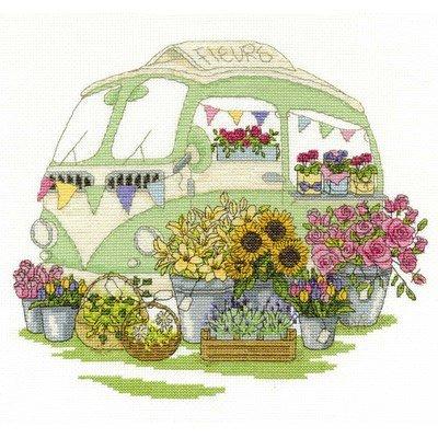 Kit caravane de fleurs - DMC
