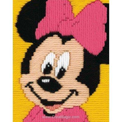 Disney minnie - walt disney land kit canevas point lance - Vervaco