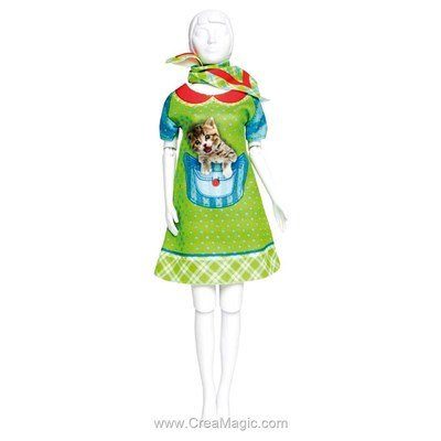 Couture twiggy kitten DRESS YOUR DOLL