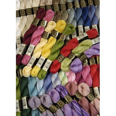 Fil coton perlé dmc - spécial hardanger article 115ea grosseur 5