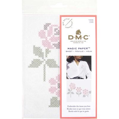 Feuille magique - costum by me ! fleurs - DMC