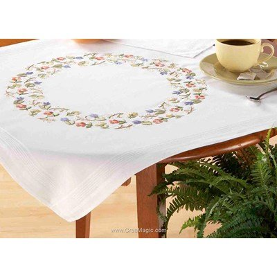 Kit nappe laddy marry en broderie traditionnelle - Duftin