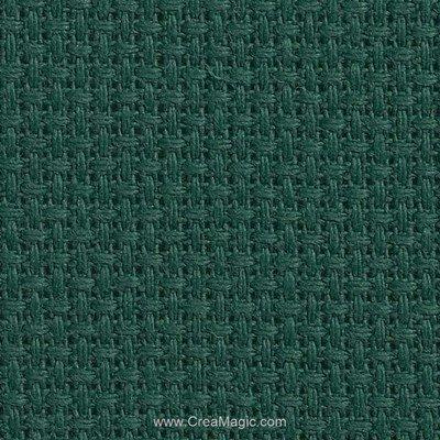 Toile aida 5.5 pts vert feutre - gold standard de Charles Craft