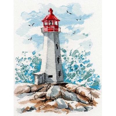 Kit tableau Oven point de croix le phare de l'espoir